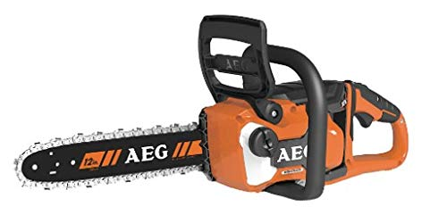 AEG 4935471337 Akku-Kettensäge (18V, Kettenbremse, AVS Seitengriff, automatisches Schmiersystem, Schwertlänge 30 cm) ACS18B30 -