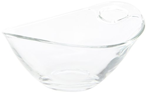 31JypAYAS7L - Genware NEV-V14065120 Handled Glass Bowl, 10 cm Diameter (Pack of 6)