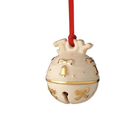 Lenox Just Jingles Joy Bell, Christmas Ornament by Lenox