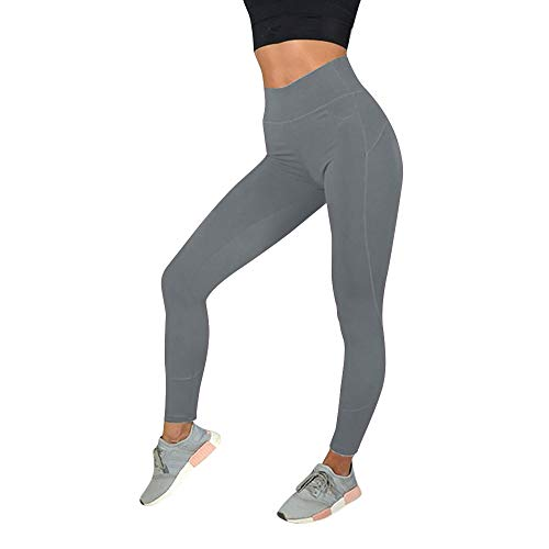 Cramberdy Damen Hosen, Sporthose Damen, Yogahosen für Damen Lang, Damen Workout Leggings Fitness Sport Gym Laufen Yoga Athletic Pants Strumpfhose Active Running Hosen Casual Workout Pants Langarm-leggings