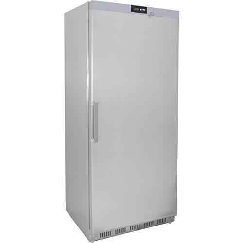 ZORRO - Tiefkühlschrank ECO600F s/s - Edelstahl - Gastro Tiefkühlschrank mit Volltüre - R600A - Gefrierschrank