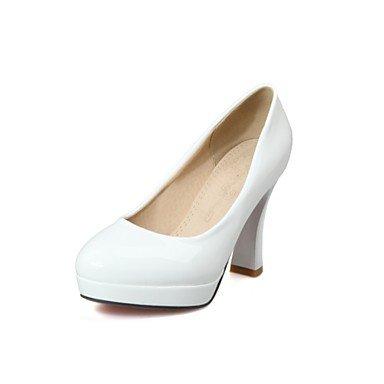 Zormey Frauen Schuhe Schieber Ferse/Plattform/Round Toe Heels Party & Amp Abend-/Kleid Schwarz/Rosa/Wei? US7.5 / EU38 / UK5.5 / CN38