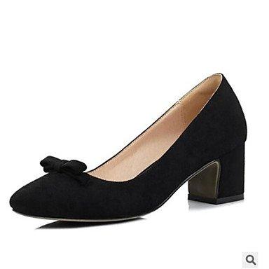 Sanmulyh Zapatos De Mujer Pu Spring Heels Confort Para Casual Rosa Claro Rosa Verde Claro Gris Morado Negro