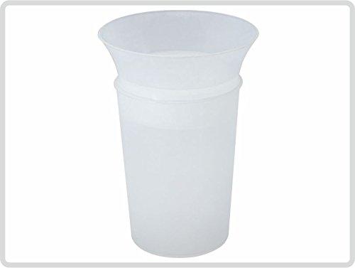 Dysphagie Becher Trinkbecher Trinkhilfe bei Schluckbeschwerden/ transparent