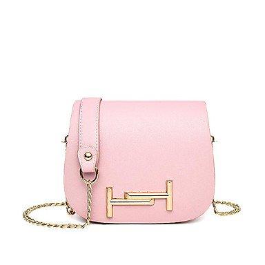 Damenmode PU Leder Schulter Messenger Bags/Handtasche Gray