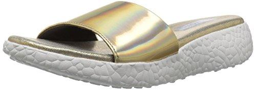 Skechers Cali scorrere Burst Sandalo Gold