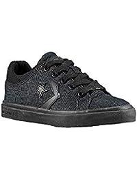 Converse146645C - Converse Star Street Ox Converse Zapatillas para Patinar de Hombre Negro Hombre