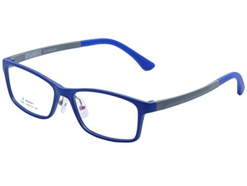 DEDING Kinder leichte optische Brillenfassung (blau)