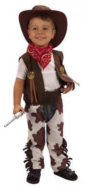 Cowboy-Kostüm Deluxe für Jungen - 3-4 Jahre