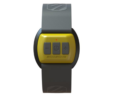 Scosche Rhythm Yellow Bluetooth Pulse Monitor for iPhone / Android (RTHMINTL15) Scosche Gps