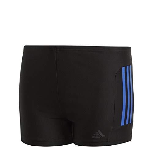 adidas Jungen Infinitex EC 3 Stripes Boxer, Black/Hi-Res Blue, 176