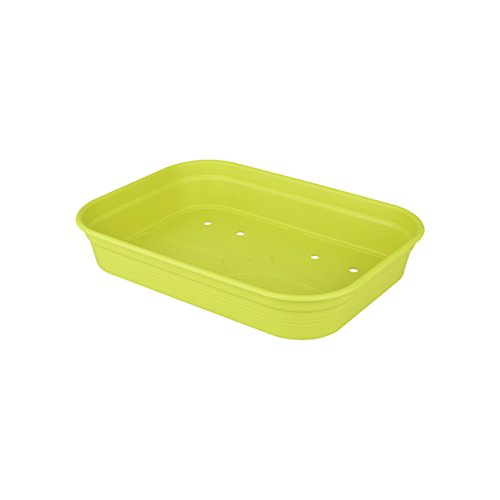 Elho 2055216 Green Basics Coquille pour Planter Vert Lime Taille M 33 x 33 x 14 cm