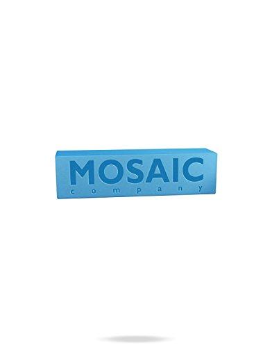 Mosaic Skateboard Wachs, Blau