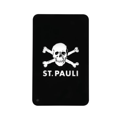 Intenso St. Pauli Drive externe Festplatte 500GB (6,4 cm (2,5 Zoll), 5400rpm, 8MB Cache, USB 3.0) schwarz