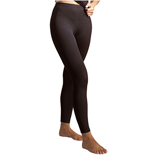 HERMKO 7720 Damen Legging women Leggins lady leggings Hose lang aus der soft Faser Modal von Lenzing (weiche Unterhose mit leichter...