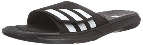 adidas Performance Herren Izamo Dusch-& Badeschuhe, Schwarz (Core Black/Ftwr White/Core Black), 43 EU
