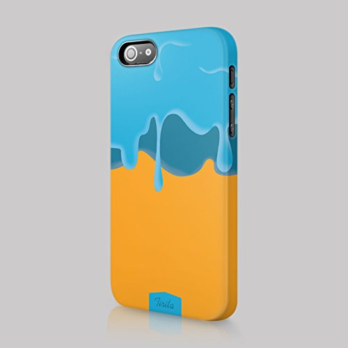 tirita Case Cover Hard Kunststoff trendige Fashion Cute Design Drip Ice Lolly Eingetaucht Goo, plastik, 04, iPhone 7 & 8 -