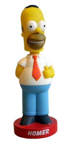 Los Simpson Abysses Corp BOBFUN006 Figura de Homer con cabezón balanceante (15 cm) 1