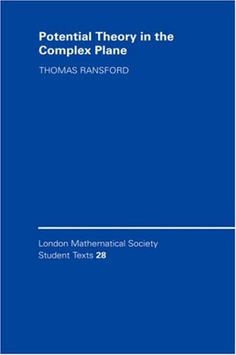 LMSST: 28 Potential Complex Plane (London Mathematical Society Student Texts)
