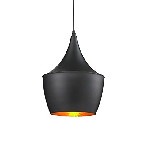 E27Lamp Bed of Ceiling, azxes, Illumination Pendant Lamp, Retro Lighting Industrial, 40W Pending of modern design with black lamp, the Restaurant, Bar Cafeteria, House Style