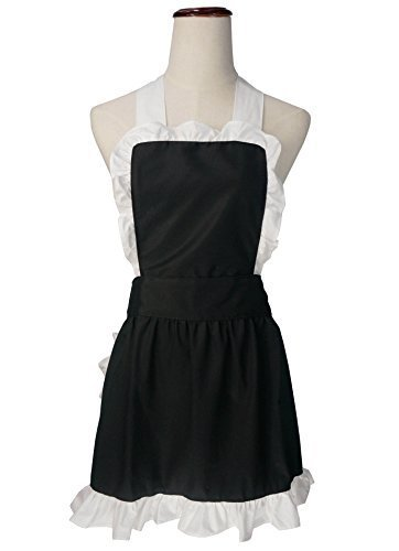 lilments-petite-ruffle-outline-retro-apron-kitchen-cake-baking-cooking-cleaning-maid-costume-black-b