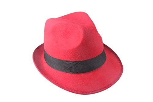 prefe - Chapeau - Femme red