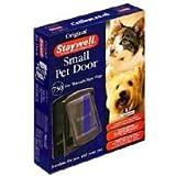 Staywell Original Small Dog Door Pet Flap 730 Brown