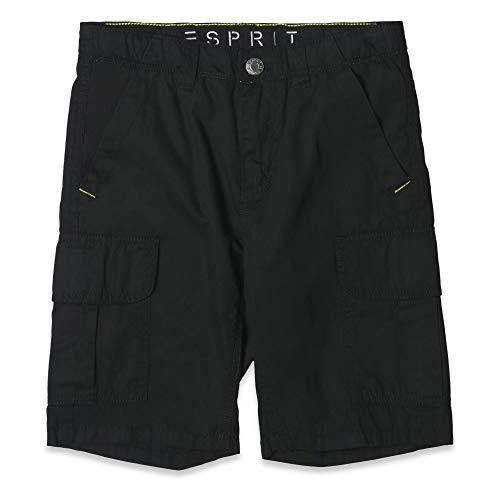 Herren Woven Zip (ESPRIT KIDS Jungen Woven Bermuda Shorts, per Pack Grau (Anthracite 290), 146 (Herstellergröße: 146))