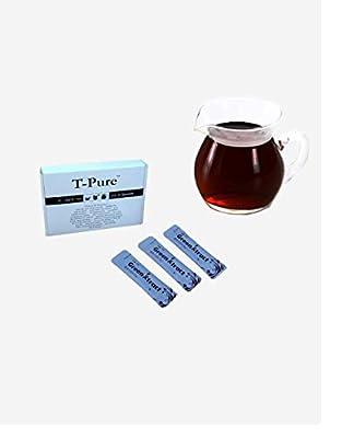 Thé pu-erh instantané, 100% pur Thé pu-erh extract, sous forme cristallisée.Sans sucre. Aucun additif. 20 Sachets.