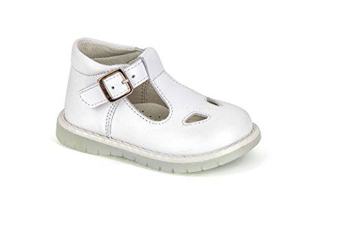 Pablosky 83100, chaussures mixte enfant Blanc