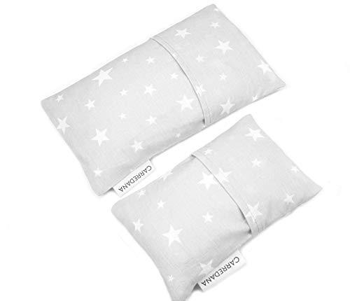 Set Saquito térmico anti cólicos (extra-pequeño para recién nacidos y normal) (Estrellas...