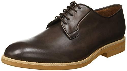 Lottusse T2116, Zapatos Cordones Derby Hombre, Marrón