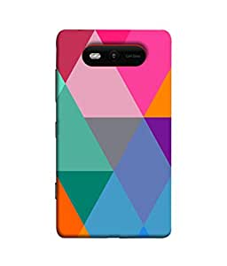 PrintVisa Diamond In A Rough 3D Hard Polycarbonate Designer Back Case Cover for Nokia Lumia 820