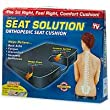 Deluxe Seat Solution Orthopedic Seat Cushion