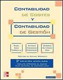 CONTABILIDAD DE COSTES Y CONTABILIDAD DE GESTION. VOL. 2. 2 ED. AMPLIADA