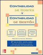 CONTABILIDAD DE COSTES Y CONTABILIDAD DE GESTION. VOL. 2. 2 ED. AMPLIADA por S@EZ TORRECILLA
