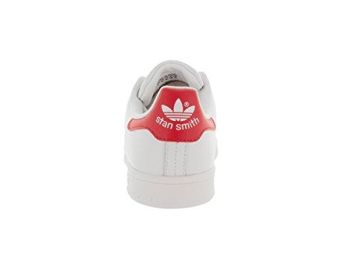 Adidas Stan Smith W Donne Scarpe Casual Ftwwht/Ftwwht/Colred