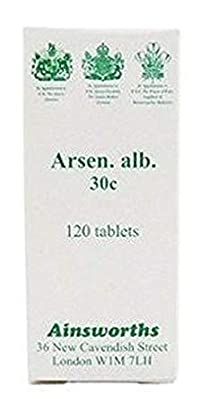 Ainsworths Arsen Alb 30C Homoeopathic Remedy 120 Tablets