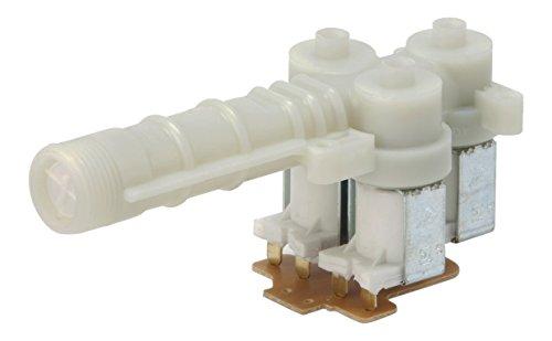 Ein Electrolux-gerät (DREHFLEX® - Ventil / Einlassventil / Magnetventil / Wassereinlassventil für diverse Waschmaschine von AEG / Electrolux auch diverse Geräte von Privileg / Quelle - passend für Teile-Nr. 899645238280-8 / 8996452382808 möglicher Aufdruck 645 175 252, 645175252)
