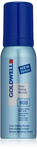 Goldwell Colorance Styling Mousse 8GB, saharablond hellbeige, 75 ml, 1er Pack, (1x 0,075 L) -