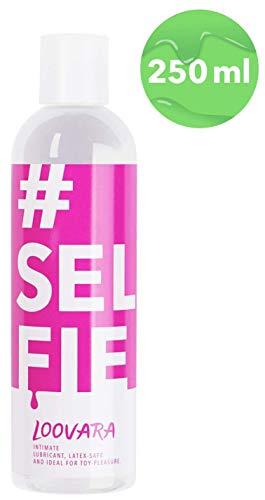 Loovara Selfie - medizinisches Gleitgel | ph-optimiert für die weibliche Intimflora | ideal für Selbstbefriedigung, Oralsex und Sex-Spielzeug | auf Wasserbasis, ohne Silikon | dermatologisch getestet