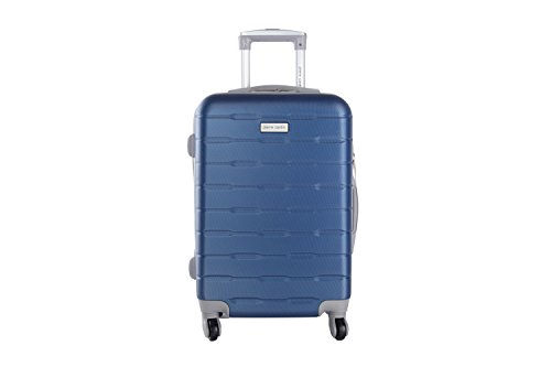 Maleta rígida PIERRE CARDIN azul mini equipaje de mano ryanair 4 ruedas VS17