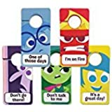 TOMY Pocket Money Toys Inside Out My Emotion Door Hangers