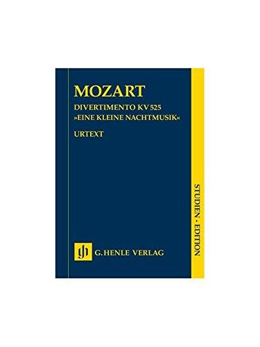 Eine Kleine Nachtmusik für Streichquartett und Kontrabass; Studienedition