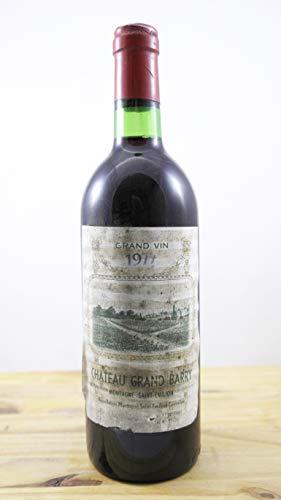 Vino Cosecha 1977 Château Grand Barry ELA Botella