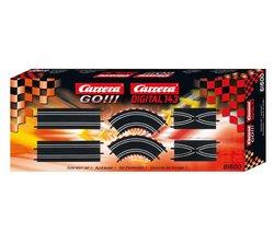 "Preisvergleich Produktbild Carrera 61600Track Verlängerung Kit (Cars 4007486616004) die ""61600Track Verlängerung Kit von Carrera inkl. 290° Kurven, 2342mm geraden und 2Track SWIT..."