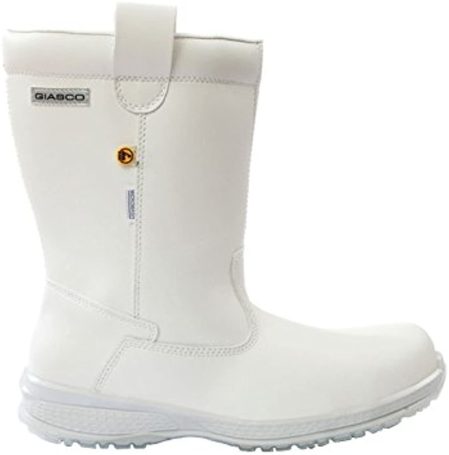 Giasco ku011i44 Calf Boot, Iceberg, S2, tamaño: US 9,5/tamaño UK: 44, color blanco