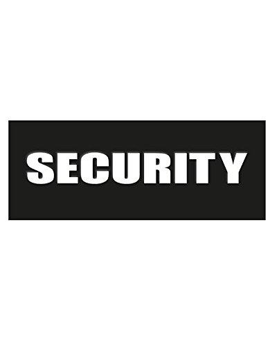 security Sicherheit PVC-Gummi Badge Military Tactical Patch Klettverschluss Rückseite TRF -