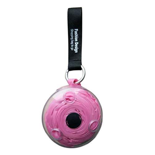 ODJOY-FAN 2019 Unisex Handtasche Schultertasche Einkaufen Aufbewahrungstasche Tragetasche Stilvoll Kreativ Faltbar Wiederverwendbar Hohe Kapazität Taschen (Rosa,1 PC) -