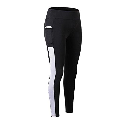 fuxinhe Womens Telefon Tasche Sport Hosen Mode Einfache Böden Hohe Taille Schnell Trocknend Sportbekleidung Für Fitness Walking Laufen Yoga